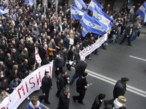 Грузинская оппозиция на час перекроет дороги, ведущие в Тбилиси