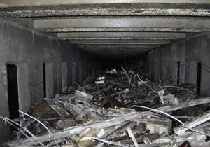 В Киеве из коллектора реки Лыбедь извлекли почти 850 тонн мусора
