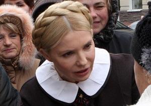 Тимошенко ушла из ГПУ, так и не получив постановления о новом деле против нее