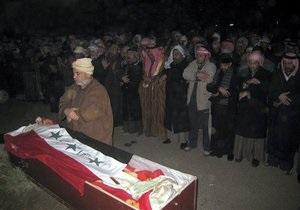 Химического Али похоронили рядом с Саддамом Хусейном