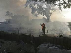 ВВС Израиля снова атаковали туннели на границе секторе Газа и Египта