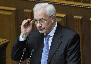 Азаров уверен, что у Тимошенко был личный интерес при подписании газовых соглашений с Россией