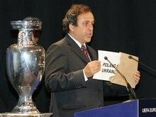 Платини гарантировал проведение Евро-2012 в Украине и Польше