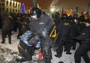 Лидер Родины одобрил подавление акций протеста в Минске