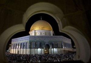 До конца Ночи могущества. Полиция Иерусалима закрыла храмовую гору для немусульман - тур в Иерусалим - храмовая гора - рамадан