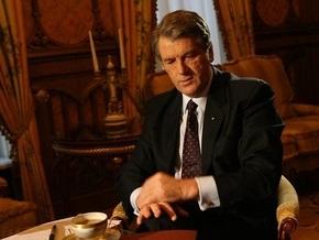 Ющенко выйдет в прямой эфир из Бельгии в 14:00