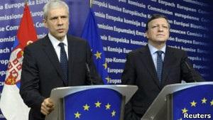 Сербия стала кандидатом на вступление в ЕС