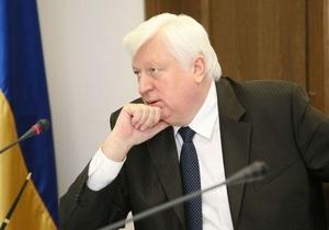 Пшонка сообщил, что прокуратура поставит вопрос об аресте экс-главы Минприроды