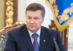 Янукович надеется до ноября пересмотреть газовые договора с Россией