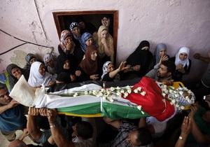 новости Палестины - Израиль - Столкновения с израильской полицией: три палестинца убиты, 19 ранены