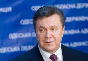 Это наши обязательства совместно с Россией: Янукович гарантирует транзит газа в Европу