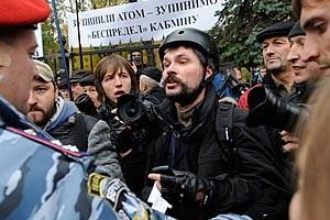 СМИ: Сотрудники Беркута сломали ребро фотокорреспонденту во время митингов под ВР