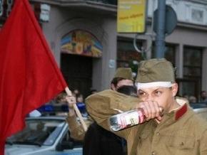 Во Львове воссоздали события сентября 1939 года под лозунгом Будь бдительным! Они могут вернуться