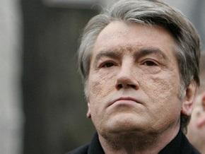 Ющенко выразил соболезнования в связи с гибелью людей в России