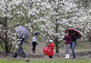 Прогноз погоды на воскресенье, 9 мая