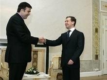 Встреча Медведева и Саакашвили: Кремль  осторожно оптимистичен