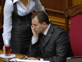 Томенко просит депутатов разойтись за свой счет до президентских выборов