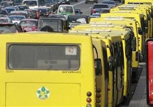 В Киеве количество частных перевозчиков может уменьшиться вдвое