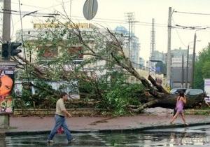 В ряде областей Украины объявлено штормовое предупреждение