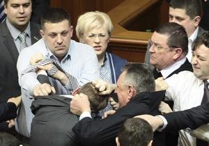 Свобода: Регионал Семенюк разбил депутату Ирине Сех лицо