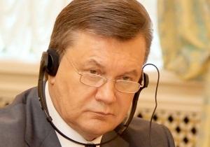 Батьківщина: Янукович демонстрирует паранойю