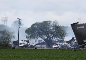Техас: спасатели ищут пострадавших при взрыве