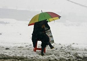 На вторник синоптики прогнозируют мокрый снег с дождем