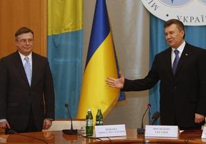 Глава МИД объяснил, почему Янукович не может помиловать Тимошенко
