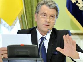 Ющенко считает закон о выборах президента  политическим мошенничеством