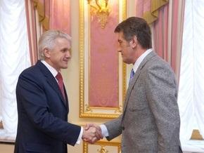 Литвин призвал Ющенко  не выступать, как большевики с лозунгом