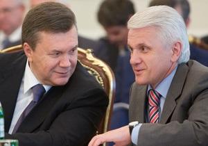 Литвин об объединении с Партией регионов: Покажет время