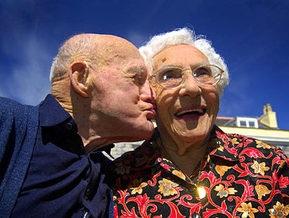 Старейшая пара в Британии отпраздновала 81-ю годовщину свадьбы