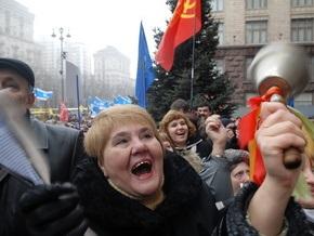 Фотогалерея: Киев протестует
