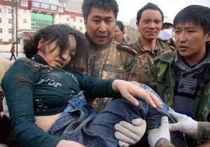 Число жертв землетрясения в китайской провинции Цинхай достигло 589 человек