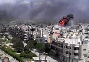 Боевики расстреляли здание Центробанка Сирии из гранатомета