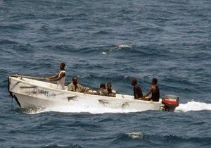 Сомалийские пираты захватили панамское судно