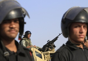 На Синае произошел мощный взрыв: частично разрушено здание разведслужбы Египта
