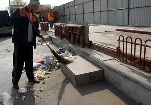 В августе в Киеве демонтировали более 200 киосков