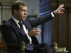Медведев сменит место общения с прессой
