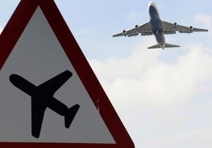 Частный самолет совершил аварийную посадку в аэропорту Харьков