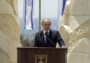 Путин: Мир на Ближнем Востоке - в национальных интересах России