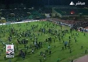 Футбольные беспорядки в Египте: 73 погибших, более тысячи раненых