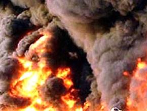 На турецко-иракском нефтепроводе начался крупный пожар
