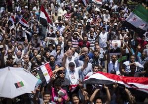 Египет - Началось. Тысячи исламистов направились к центру Каира