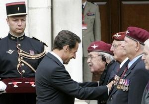 Саркози прибыл в Лондон, чтобы отпраздновать 70-ю годовщину обращения де Голля к французам