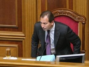 Томенко: Возможно, у Ющенко еще руки не дошли до представления Еханурова