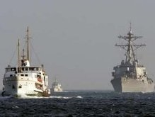 Американский эсминец вошел в акваторию Черного моря