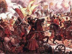 Во Львове появились открытки с текстом  350 лет победы над москалями