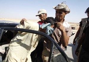 Сторонники Каддафи объявили о пленении 17 наемников