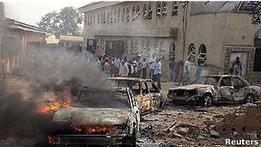 Нигерия: исламистов обвиняют во взрыве возле мечети